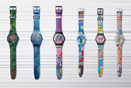 Swatch Drops Epic Six-Watch Modern Art Collaboration