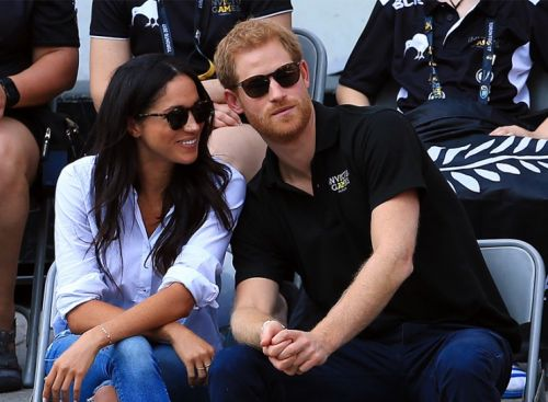Prince Harry And Meghan Markle Make Their First Official Appearance Together