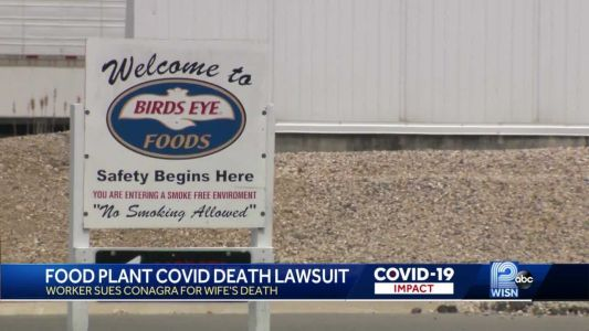 Worker sues food packaging plant, alleges wife died from COVID-19 after he contracted virus at work