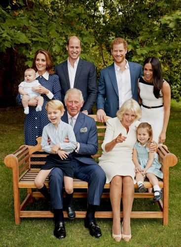 Royal family releases series of new portraits to honor Prince Charles's 70th birthday