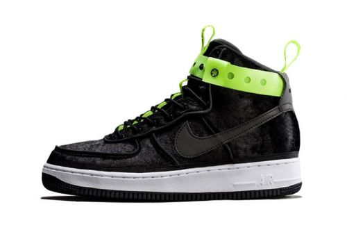 """A First Official Look at MAGIC STICK & Nike's AF1 """"VIP"""" in Black"""