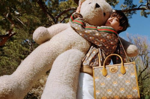 Kai Collaborates with Gucci on Teddy Bear-Themed Collection