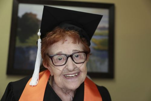Not into 'playing bingo,' 84-year-old woman gets college degree