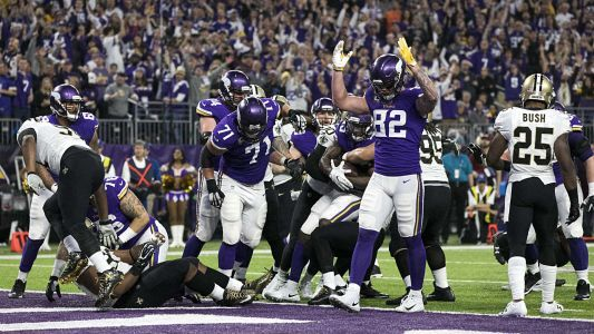 Kyle Rudolph's view of Vikings' success runs deeper than 'Minneapolis Miracle'