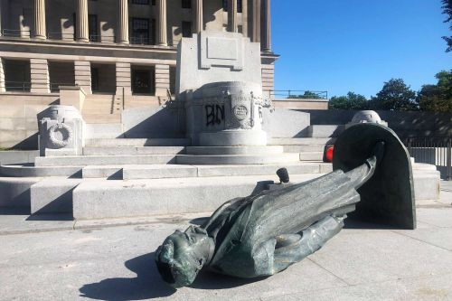 These controversial statues have been removed amid unrest over George Floyd's death