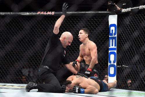 Joseph Benavidez gets UFC on ESPN+ 1 fight after all, rematches Dustin Ortiz