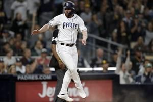 Allen makes strong debut for Padres in 4-1 win over Brewers