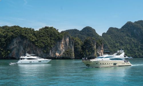 Thailand's Amazing Yacht Charter Buffet On Show in Phuket