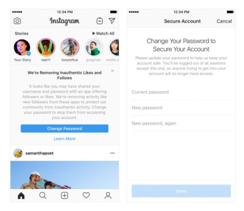 Instagram will start removing fake likes, follows, and comments generated by apps