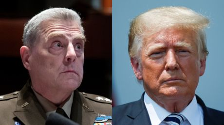 'If I was going to do a coup, it wouldn't be with him': Trump attacks 'woke' general Milley who suspected a 'nazi' coup attempt