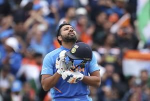 India posts record, sets Pakistan 337 to win World Cup game