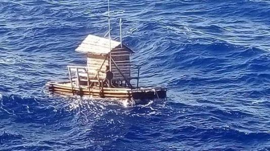 19-Year-Old Survives 49 Days At Sea, After Floating Hut Drifts To Guam