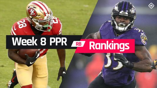 Week 8 Fantasy RB PPR Rankings: Must-starts, sleepers, potential busts