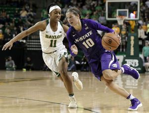 No. 4 Baylor women win 14th straight, 75-50 over K-State