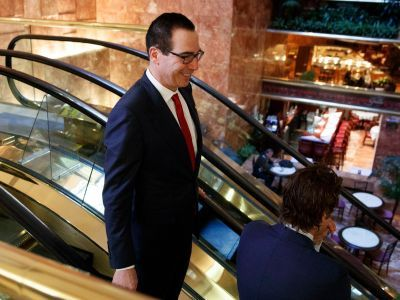 TRUMP TREASURY SECRETARY: 'There were a lot of people in California and New York who wanted to stop being friends'