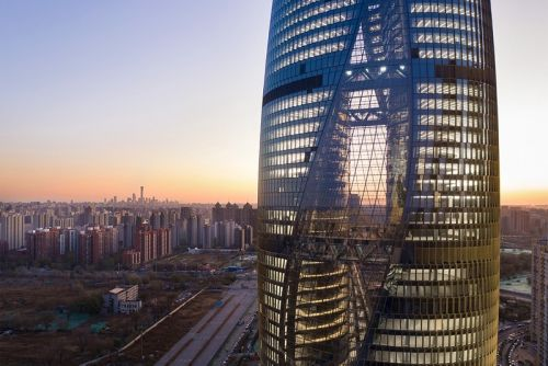 Zaha Hadid Architects Complete World's Tallest Atrium in Beijing