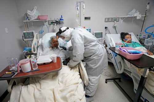 Pandemic upends Trump's plans to shrink health care safety net