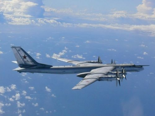 F-22 stealth fighters intercept Russian strategic bombers near Alaska for the second time this month