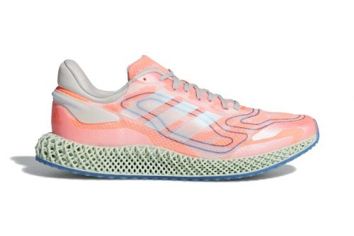 """Adidas 4D Run 1.0 Appears in Yet Another """"Signal Coral""""-Based Colorway"""