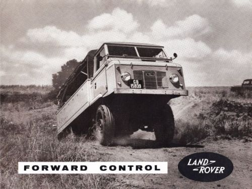 Man, just once I'd love to be at the right place at the right time to see a Land Rover Forward Contr