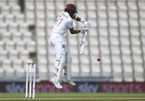 WIndies lead England by 114 runs on 1st innings on Day 3