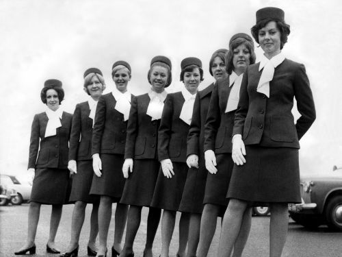 Take a photo tour of all the ways being a flight attendant has changed in the last 50 years
