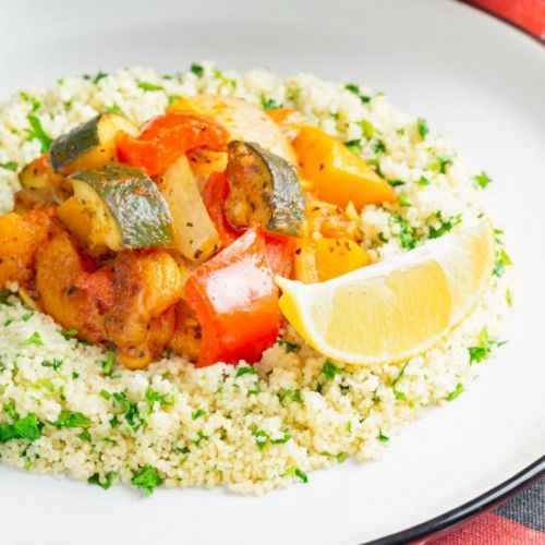 Spicy Vegetable Tagine