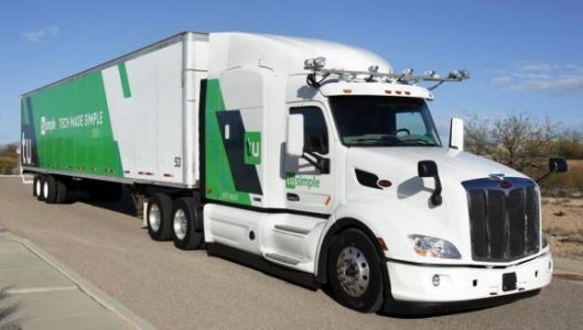 TuSimple raises $120 million to expand its fleet of driverless delivery trucks
