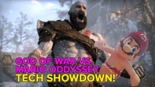 God of War vs. Super Mario Odyssey: The only tech comparison you need
