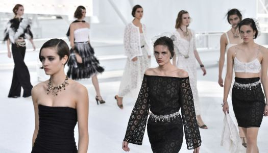 Halfhearted Goth Vibes Defined Chanel's Spring 2021 Beauty Look