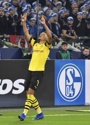 Sancho dedicates Dortmund derby-winning goal to grandmother