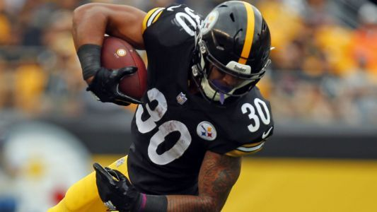 Steelers RB James Conner has LeVeon Bell's backing from afar