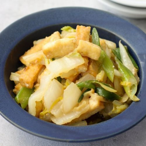Japanese Napa Cabbage Miso Stir-fry