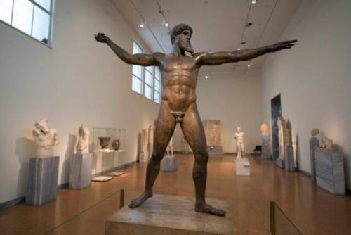 The Perfectly Posed Artemision Bronze
