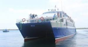 The first-ever sea bus transportation between Turkey and Bulgaria starts