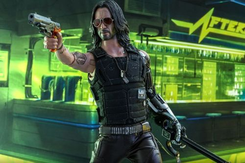Hot Toys Unveils 1:6 Scale Guitar-Wielding Johnny Silverhand From 'Cyberpunk 2077'
