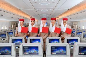 Emirates Marks 20 Years of Operations to Bahrain
