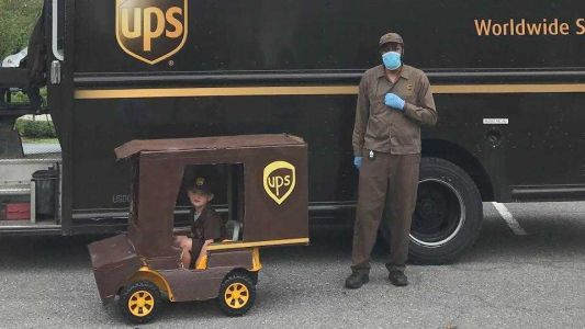 Pandemic leads to new friendship between UPS driver, 4-year-old boy