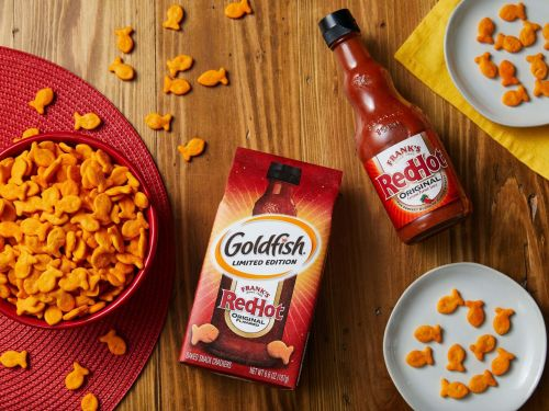 Goldfish Crackers Targets Adults With Frank's RedHot Flavor Because We Gotta Burn to Feel
