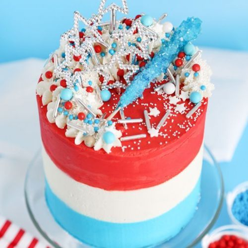 Rocket pop layer cake