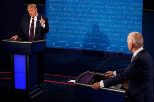 Trump tells Proud Boys to 'stand by' after being asked to condemn white supremacists in presidential debate
