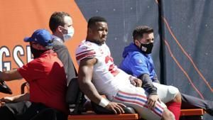 Giants RB Saquon Barkley going to start camp on PUP list