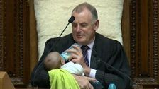 New Zealand House Speaker Babysits Colleague's Newborn During Parliament Debate