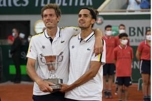 Herbert-Mahut set sights on Tokyo after French Open title
