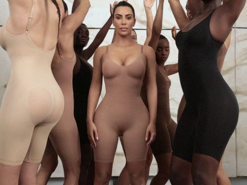 Kim Kardashian says her shapewear line SKIMS is adding body tape and pasties in 3 different skin tones