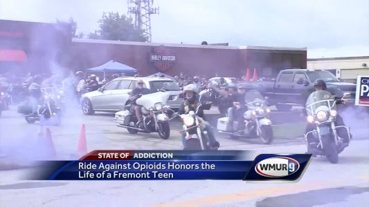 Memorial ride raises money in honor of teen who died of overdose