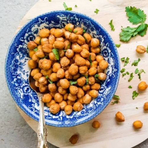 Peanut Butter Roasted Chickpea
