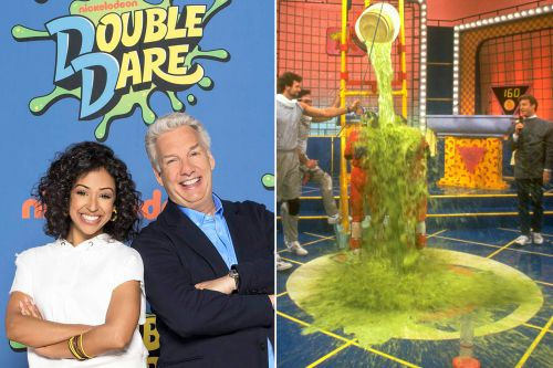 It's slime time on Nickelodeon's 'Double Dare' reboot