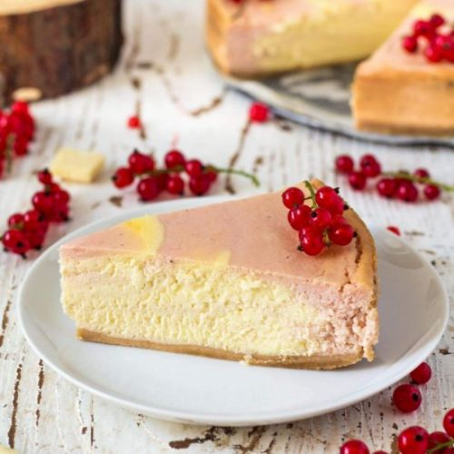 Red Currant Chocolate Cheesecake