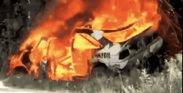 Ken Block's Beautiful 1991 Ford Escort RS Burns to a Crisp in the New England Forest Rally